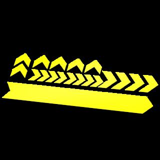 Set 19 Framebescherming glans kleur pijlen