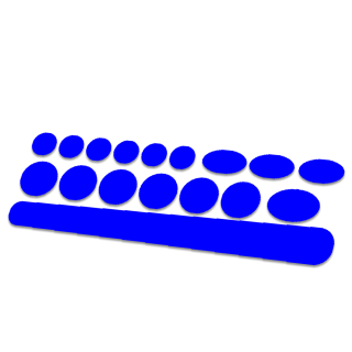 17 delige framebescherming mat kleur