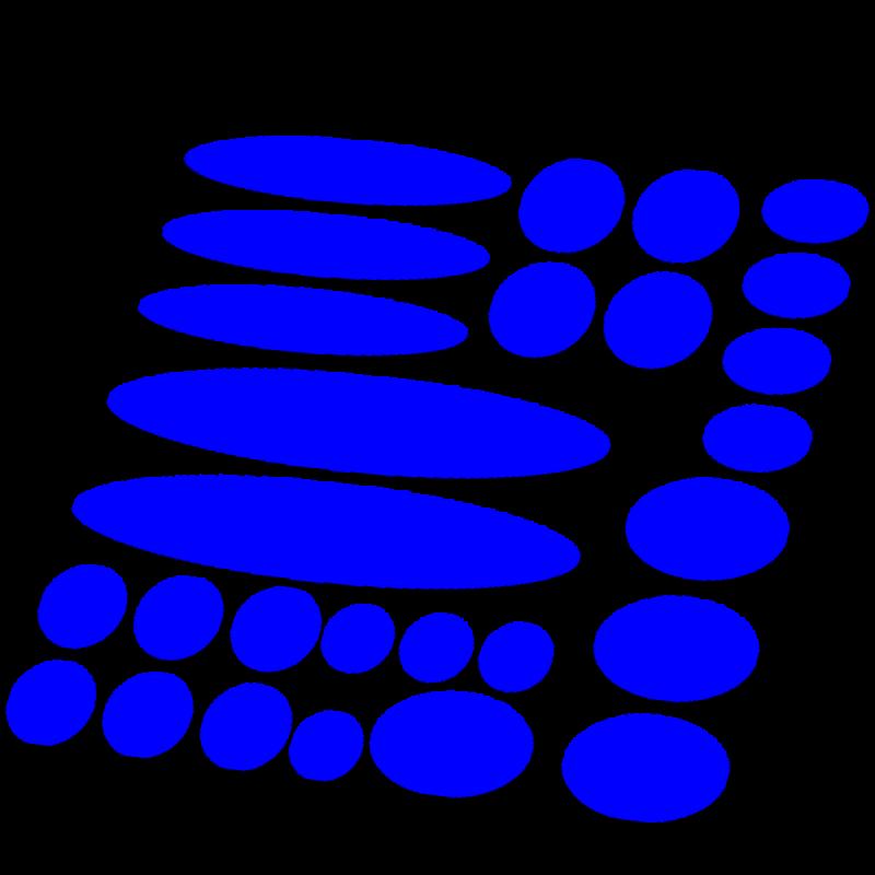 Set 27 delig framebescherming mat kleur