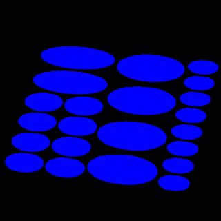 Ovaal framebescherming mat kleur