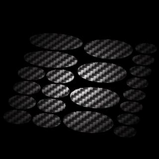 Ovaal framebescherming carbon