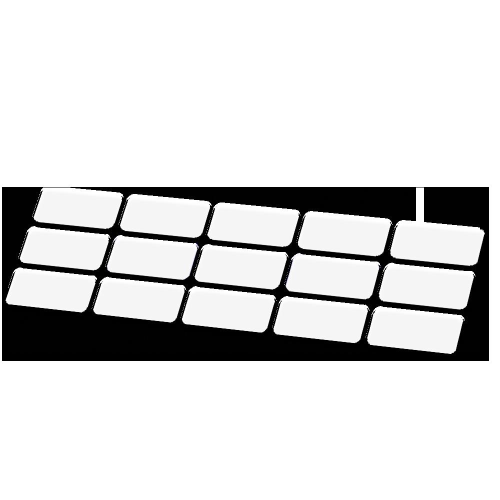 Kabel framebescherming transparant