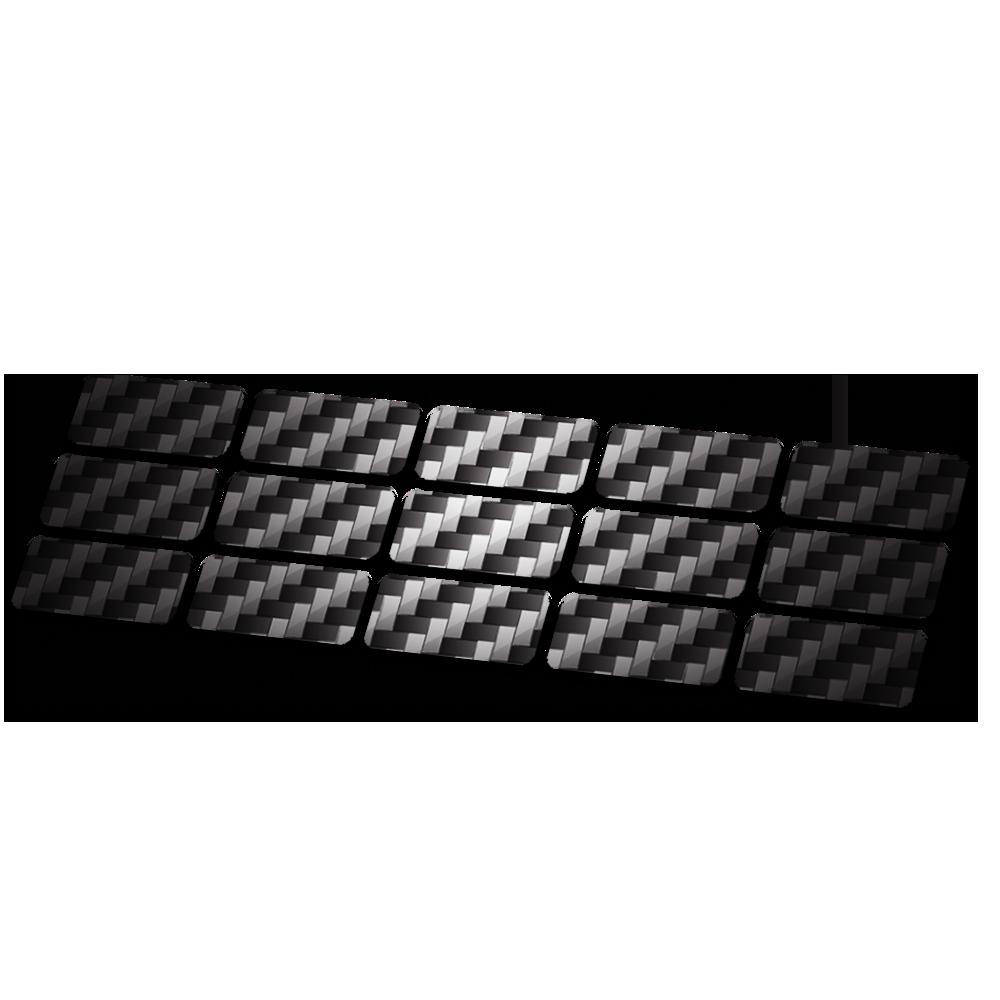 Kabel framebescherming carbon