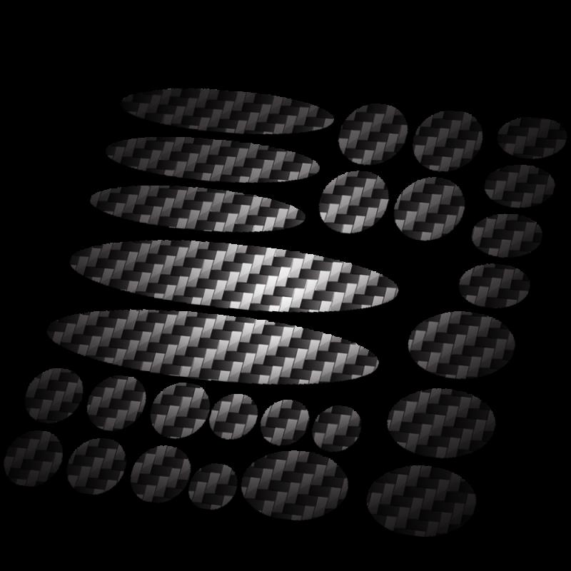 Set 27 framebescherming carbon