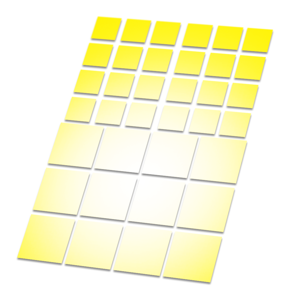 Reflecterende stickers vierkant