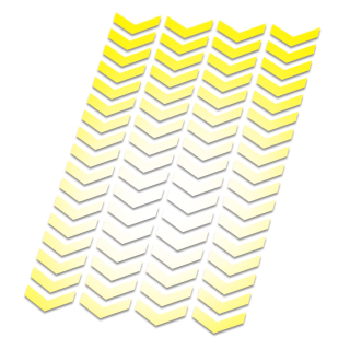 Reflecterende stickers Klein Chevron