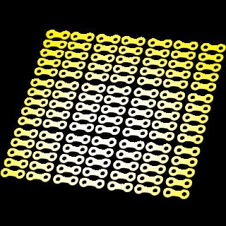Ketting schakels Reflecterende stickers
