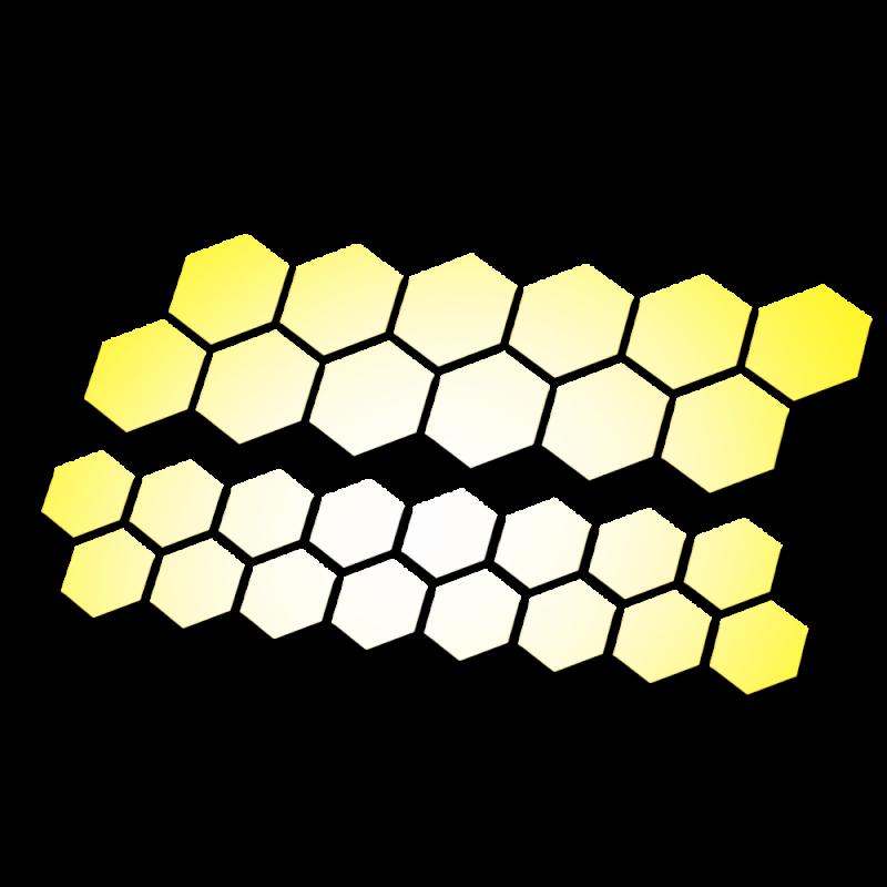 Honingraad Reflecterende stickers