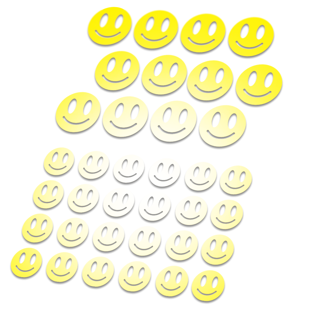 Smiley Reflecterende stickers