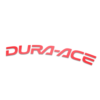 Dura Ace racefiets velg stickers