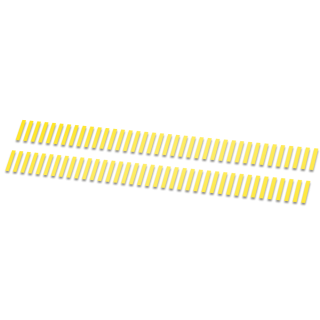 Strepen striping fietsstickers