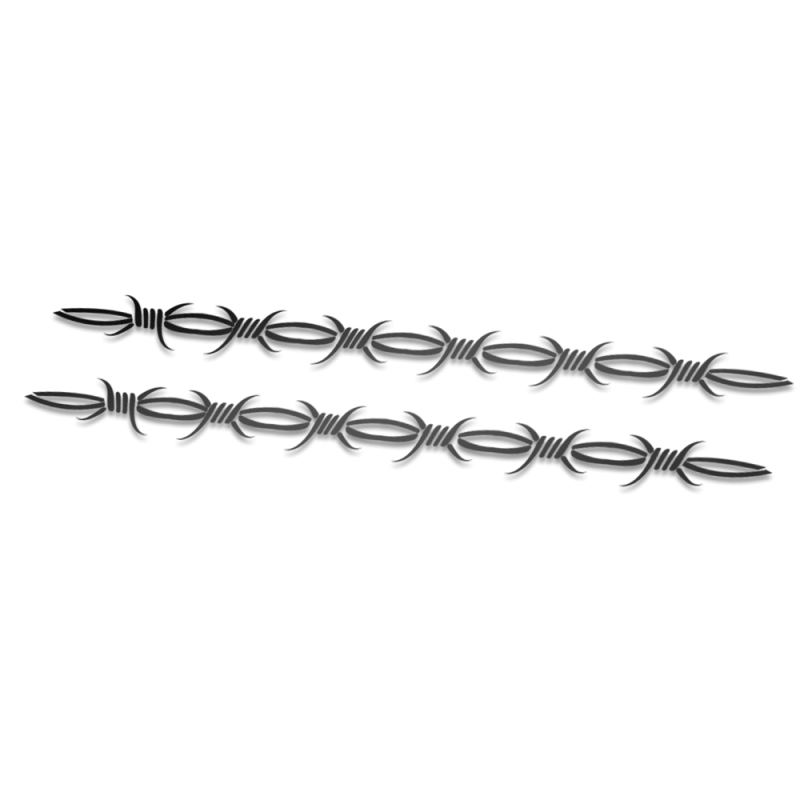Tribal 3 striping fietssticker