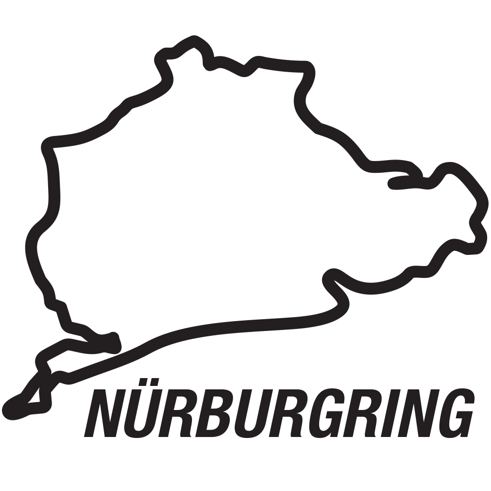 Nurburgring Nordschleife circuitsticker