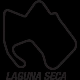 Laguna Seca circuit sticker