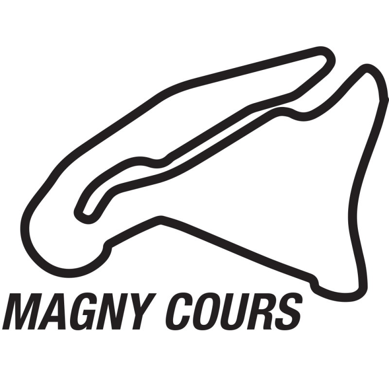 Magny Cours circuitsticker
