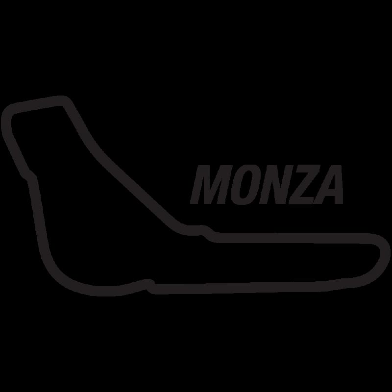 Monza circuit sticker