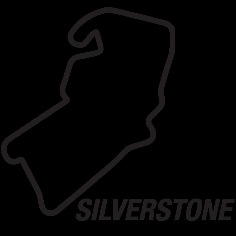 Silverstone circuit sticker