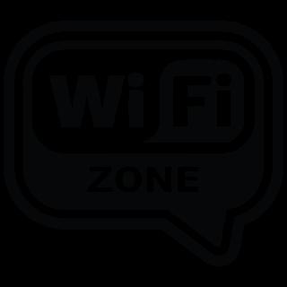 Wifi zone clouth Wifisticker