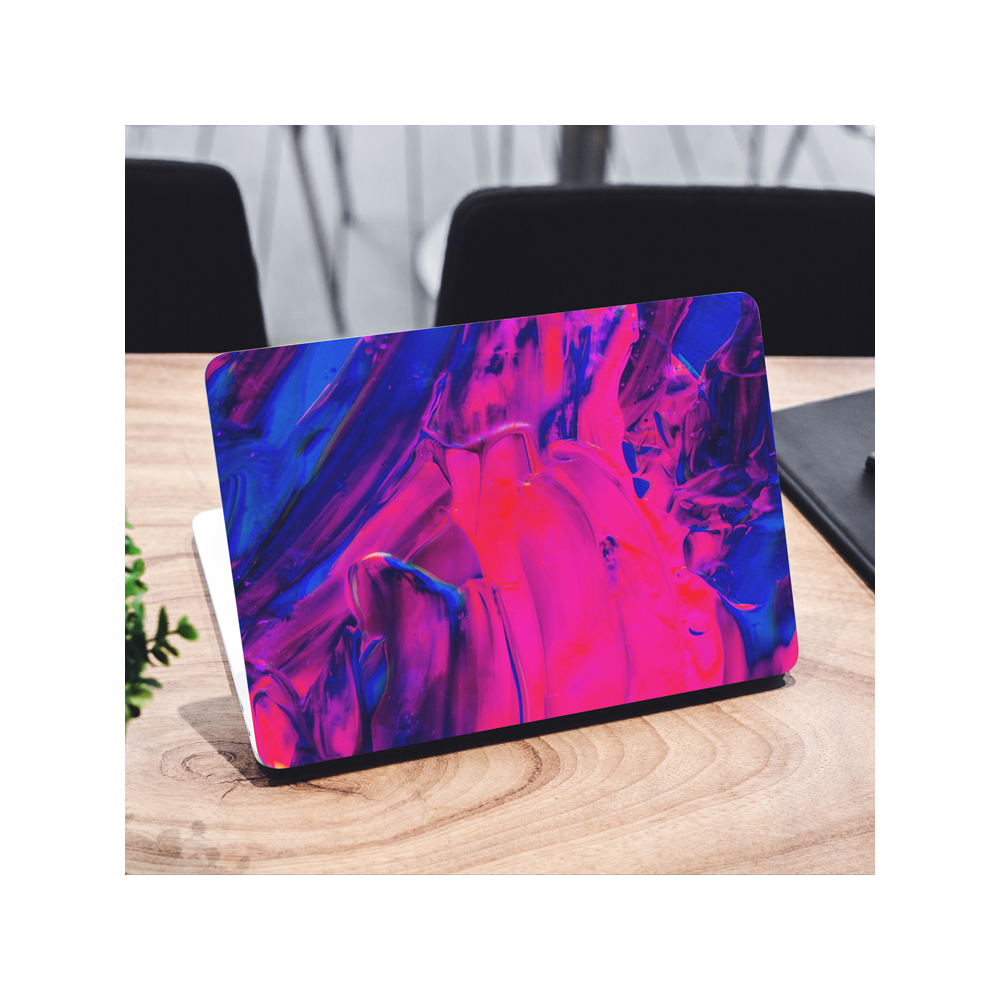 Abstract Paint Acrylic Laptop Sticker