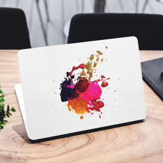 Abstract Paint Art Laptop Sticker