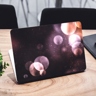 Bokeh Astronomy Laptop Sticker
