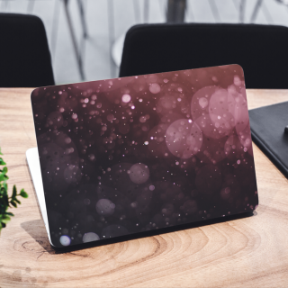Bokeh Brown Laptop Sticker