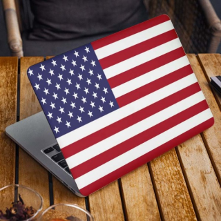 Amerikaanse Vlag Laptop Sticker