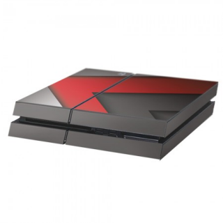 Arsenal Playstation 4 Console Skin