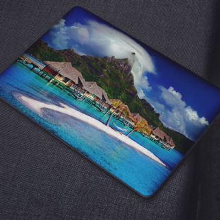 Bora Bora Laptop Sticker