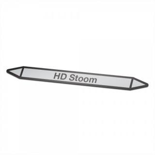 HD-Stoom Pictogramsticker Leidingmarkering