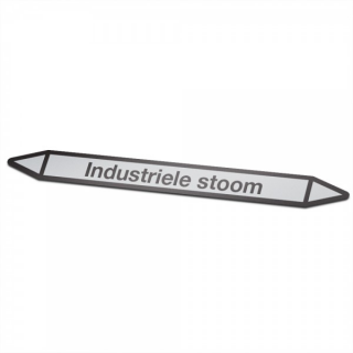Industriele-stoom Pictogramsticker Leidingmarkering