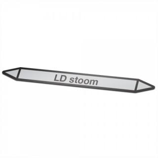 LD-stoom Pictogramsticker Leidingmarkering