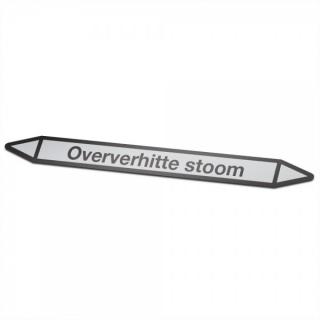 Oververhitte-stoom Pictogramsticker Leidingmarkering