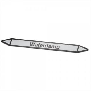 Waterdamp Pictogramsticker Leidingmarkering