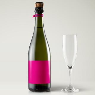 Ontwerp je eigen champagne etiket