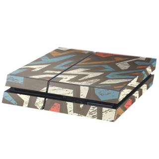 Tribe Playstation 4 Console Skin