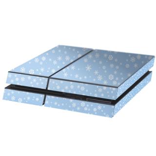 Sneeuwvlokjes Playstation 4 Console Skin