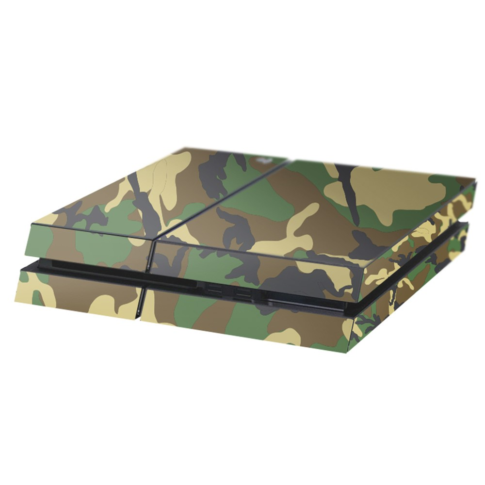 Camouflage Playstation 4 Console Skin