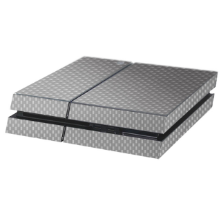 Carbon Grijs Playstation 4 Console Skin