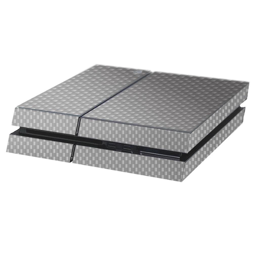 Carbon Grijs Playstation 4 Console Skin