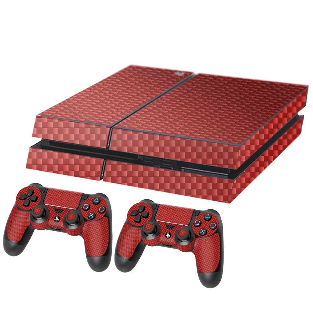 Carbon Rood Playstation 4 Console Skin