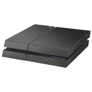 Carbon Zwart Playstation 4 Console Skin