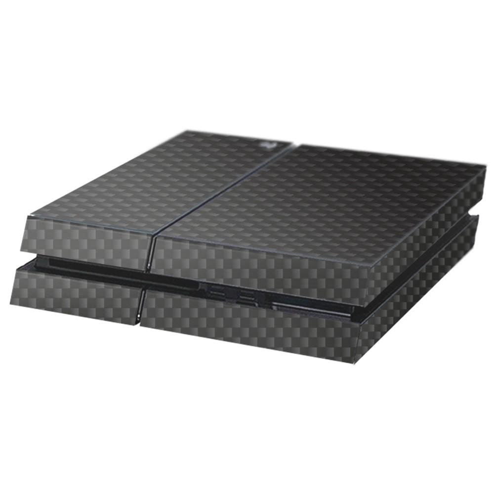 Carbon Zwart Playstation 4 Console Skin