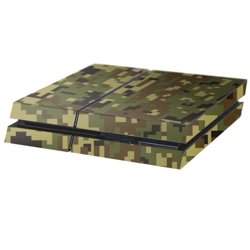 Digital Camo Jungle Playstation 4 Console Skin