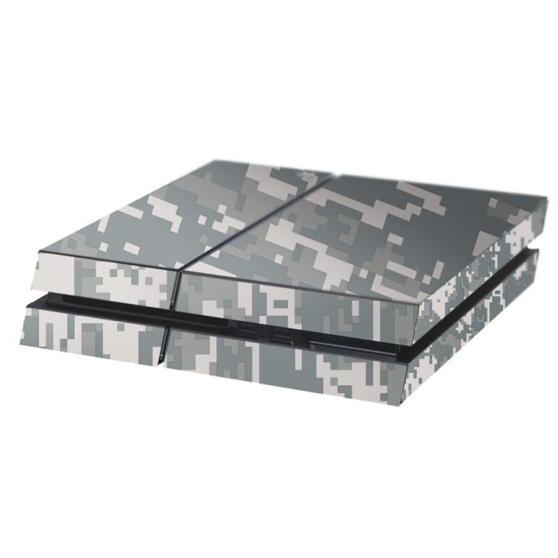 Digital Camo Playstation 4 Console Skin