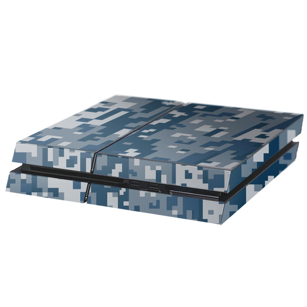 Digital Camo Rain Playstation 4 Console Skin