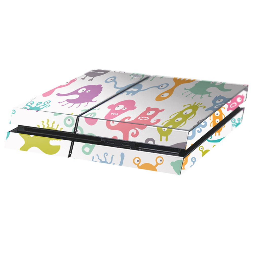 Monsters Playstation 4 Console Skin
