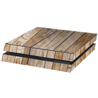 Houten Planken Playstation 4 Console Skin