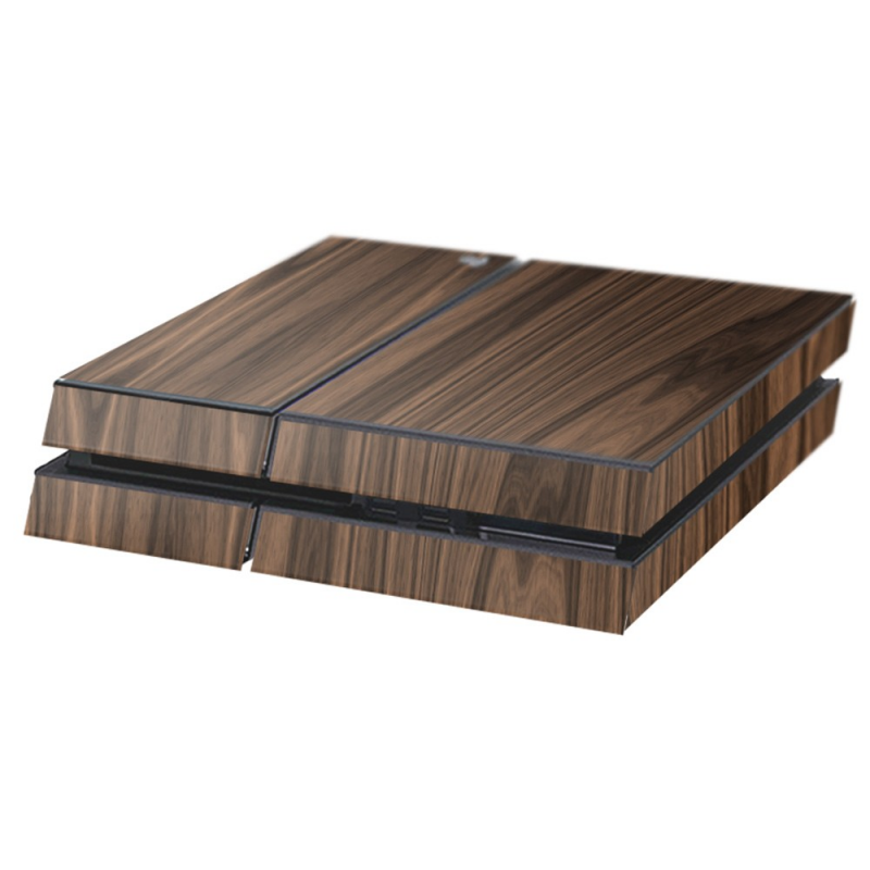 Hout Walnut Playstation 4 Console Skin