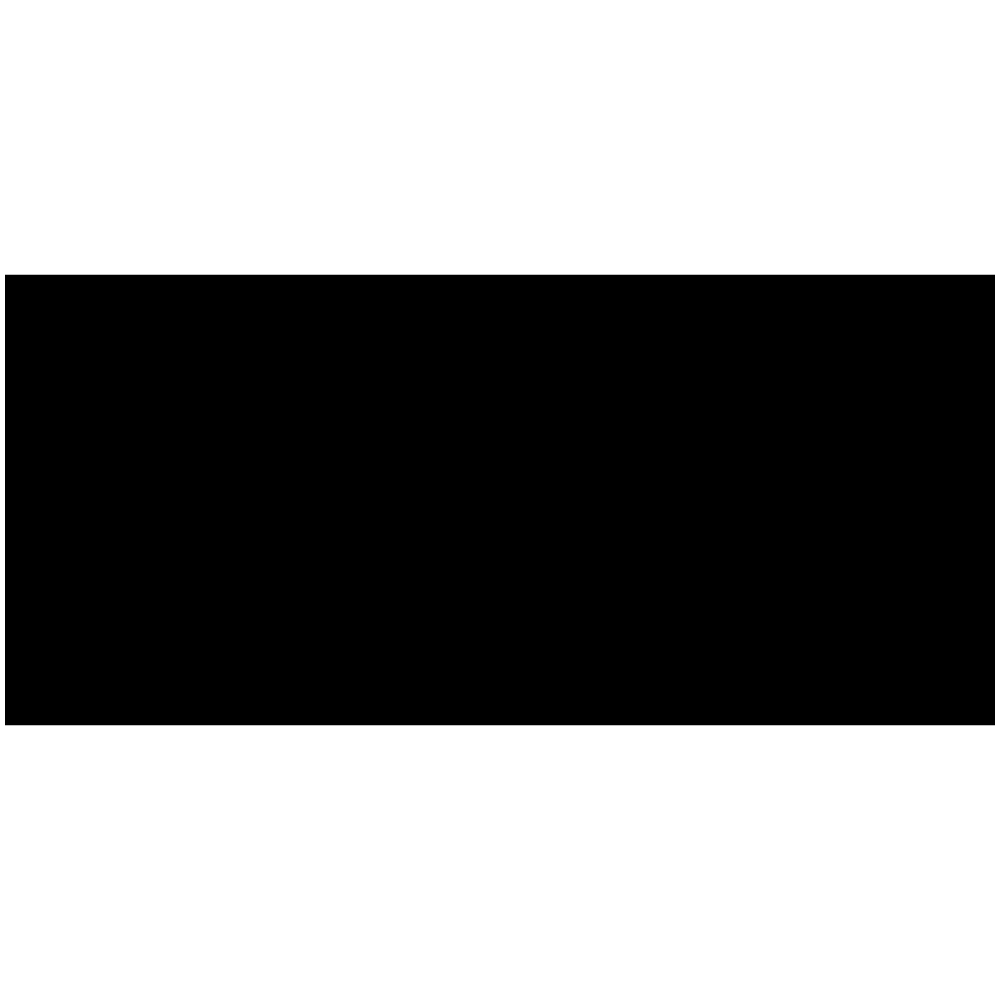 Symbool Koppelteken sticker Bebas Neue symbolen stickers